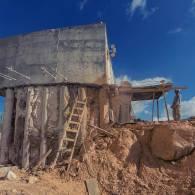 ניסור בטון בירושלים — עובי 9 מטרים