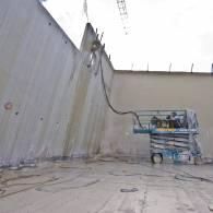 ניסור בטון במרכז - קניון הגדול פתח תקווה