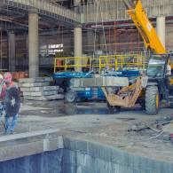 ניסור רצפת בטון במרכז הירידים תל אביב
