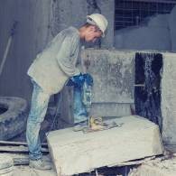פינוי קוביות בטון